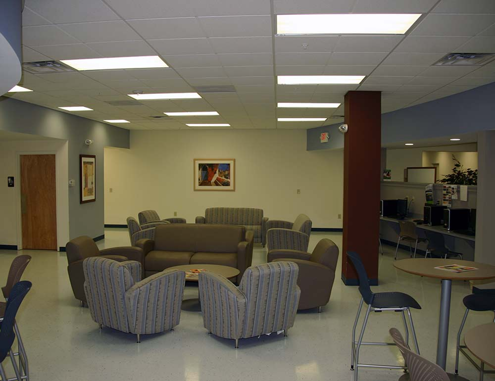 Clark State Community College Seating Area