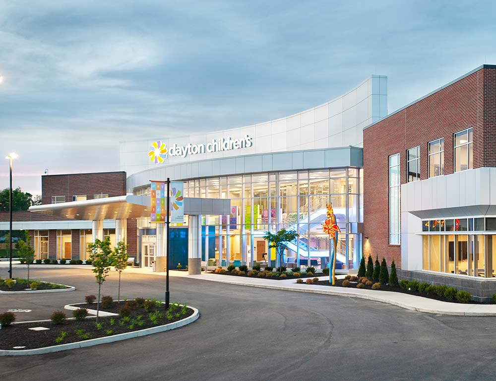 Dayton Children's Child Health Pavilion development project