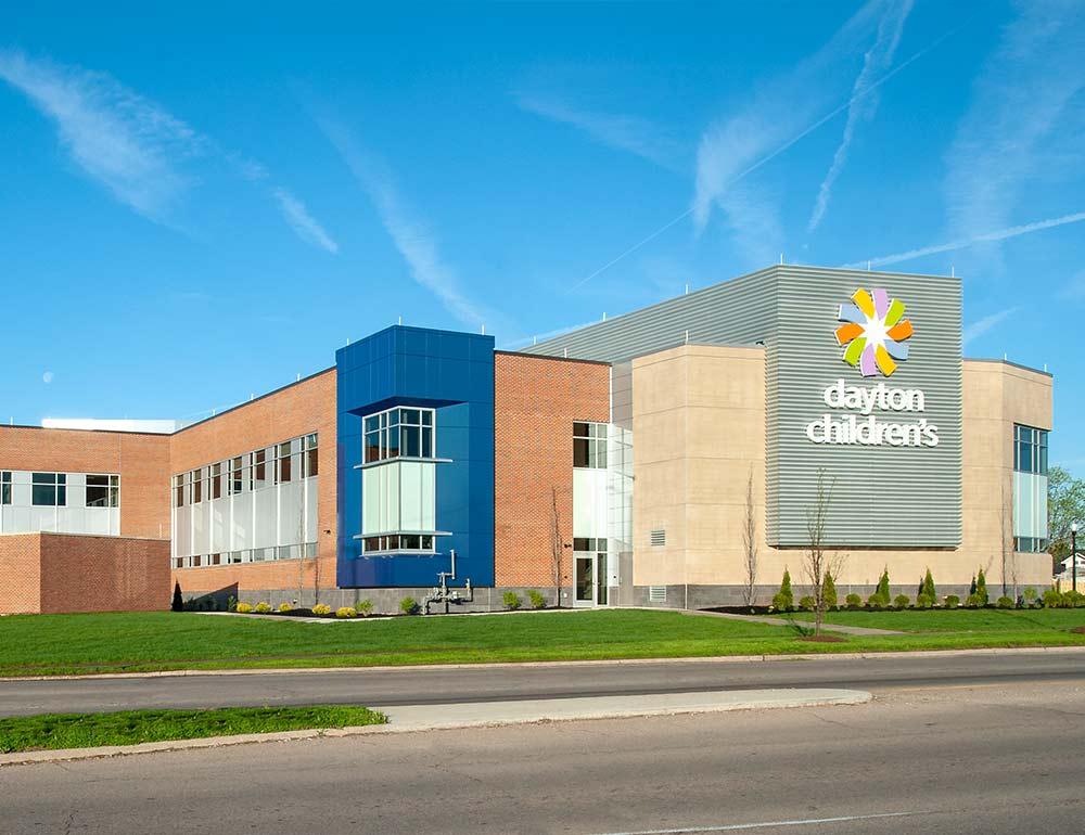 Dayton Children's Child Health Pavilion exterior design