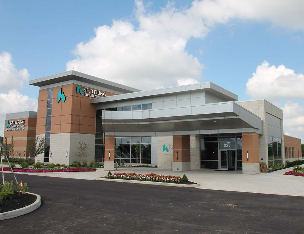 Springboro Health Center construction