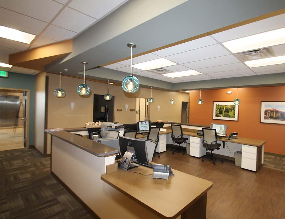 Springboro Health Center Work Area