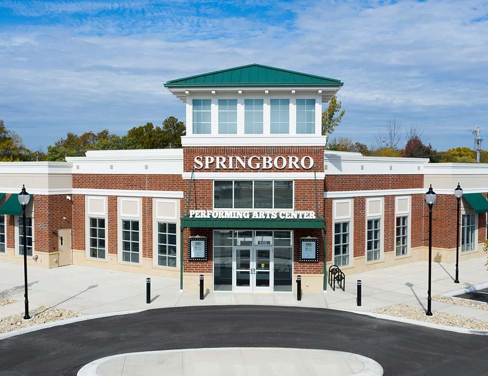 Springboro Performing Arts Center development