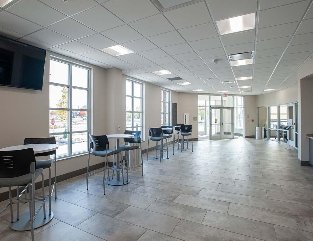 Springboro Performing Arts Center Waiting Area