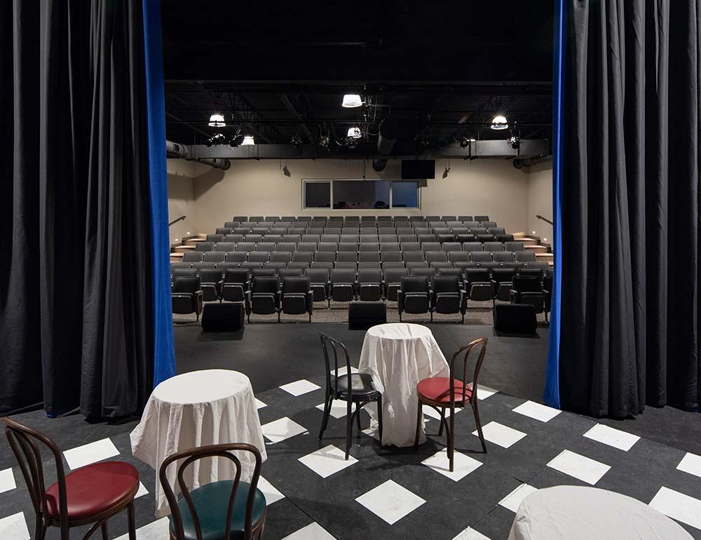 Springboro Performing Arts Center Seating